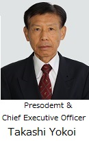 Takashi Yokoi President and CEO
