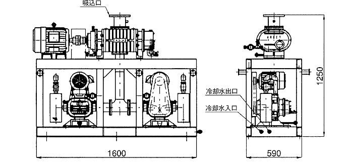MCT5-1200LE 寸法図